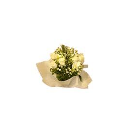 Bouquet 6 Rosas y Follaje